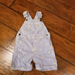 Carter's shorts overalls